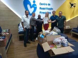 Participaram da entrega Edson Batista, Ricardo Monteiro, Milton Costa, Mariana Luciano, José Luiz Guidotti Jr. e Ricardo Kraide