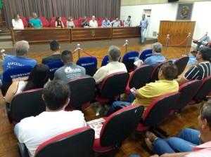 10-12-18-Reunião que marcou a eleição da primeira diretoria da Associação das Marcenarias de Piracicaba