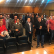 O secretário da Semtre, José Luiz Ribeiro, e a turma do curso de NR10-Básico -40 horas