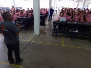 21-10-19-Milton Costa, também como presidente do Conselho Municipal de Saúde, destacou a importância desta campanha de conscientização